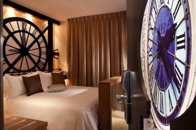 Chambre Musée Orsay, Hotel design Secret de Paris, 75009
