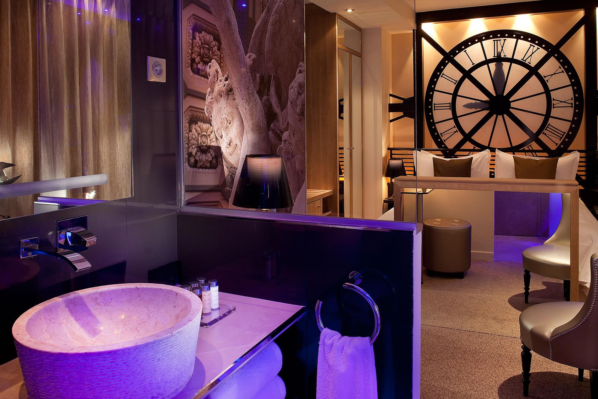 Chambre Musee Orsay - Hotel Design Secret de Paris
