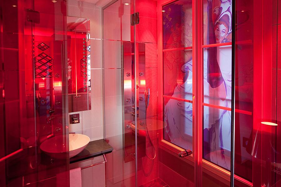 Salle de Bain, Hotel Design Secret de Paris