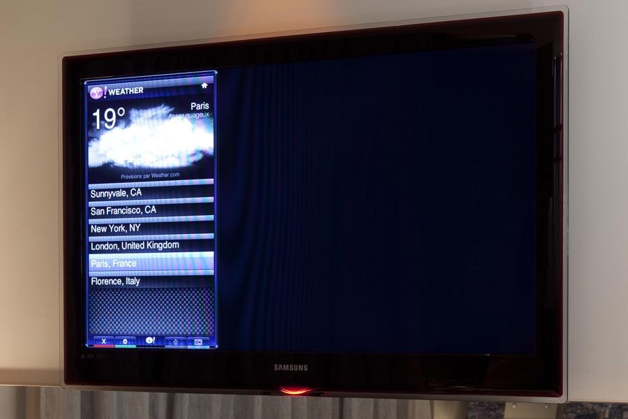 Flat Screen TV, Hotel design secret de Paris