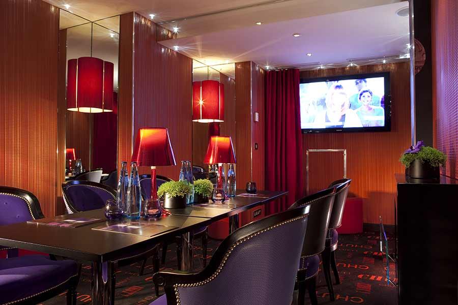 Salle de réunion, Hotel design Secret de Paris